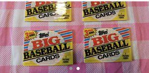 1988 topps big baseball cards for Sale in Nashville, TN