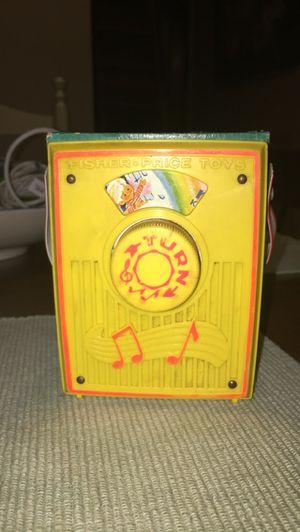Vintage Fisher Price Musical Turn Radio for Sale in Toms River, NJ