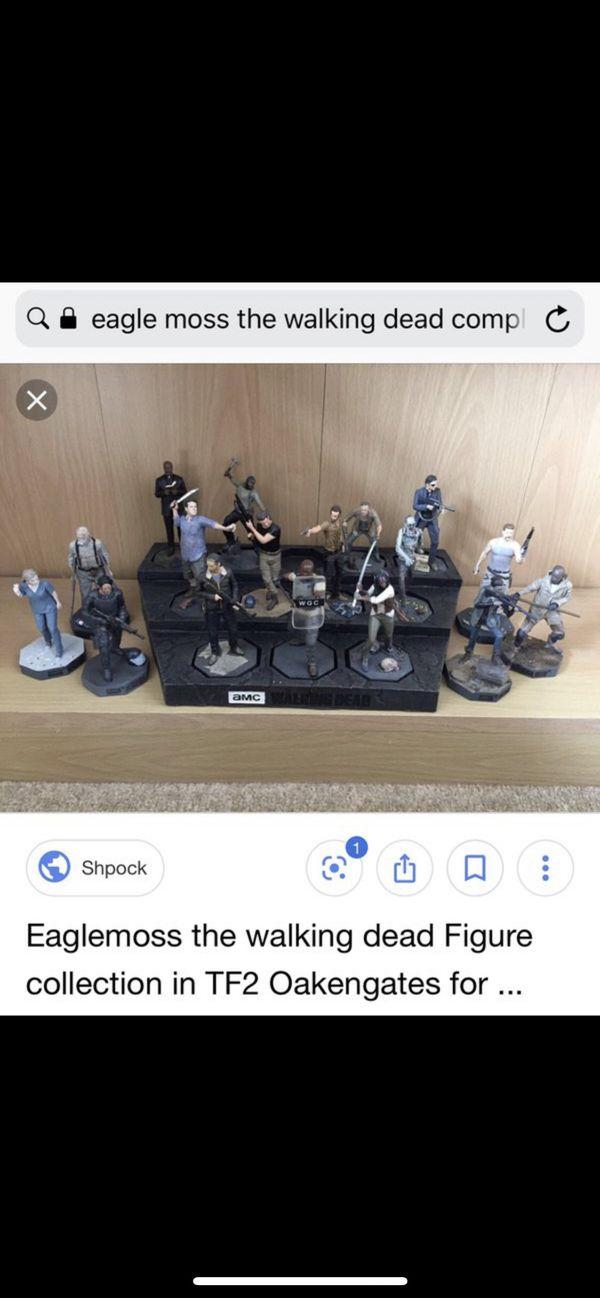 The walking dead eaglemoss statue bundle