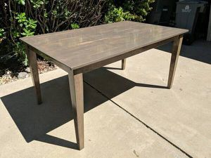 Refinished Kitchen Table - Great Condition for Sale in Yuba City, CA