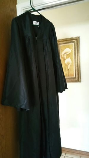 Black Graduation Gown Jostens for Sale in Riverside, CA