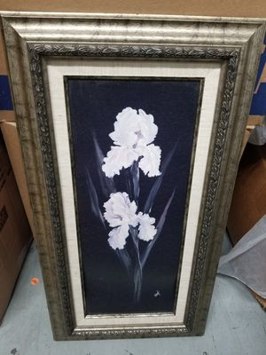 Hanging floral painting for Sale in N REDNGTN BCH, FL
