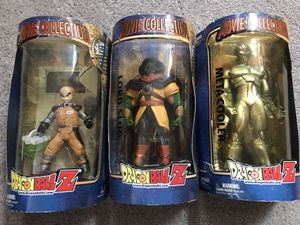 Dragonball Z full size figures from 2001 movie for Sale in Tacoma, WA