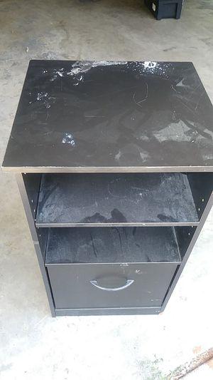 Black File cabinet for Sale in Belleville, IL