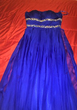 Blue prom dress for Sale in Bridgeport, CT