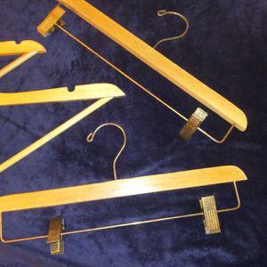 4 Wooden Hangers for Sale in Everett, WA