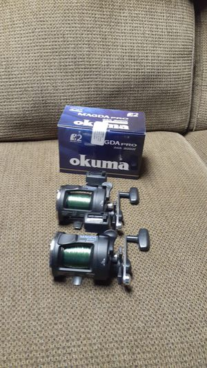 Two OKUMA line counter reels. for Sale in Thomasville, NC