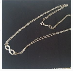 Authentic Tiffany and Co Infinity necklace for Sale in Bowie, MD