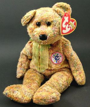 """TY BEANIE BABIES - SPECKLES THE """"e"""" BEAR (INTERNET EXCLUSIVE) - MWMTs for Sale in Jan Phyl Village, FL"""