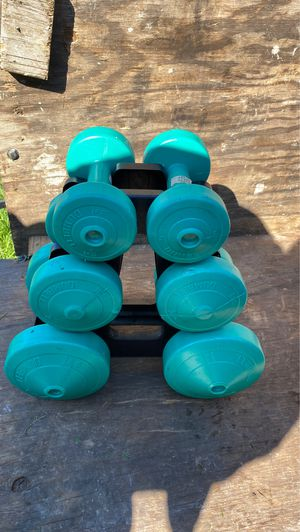 Weights for exercising for Sale in Middletown, PA