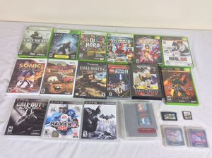 Various Video Games $3 Each For NES,Sega Genesis,Sega Gamegear, GameCube, DS, Xbox, Xbox 360 & PS3 for Sale in Severn, MD