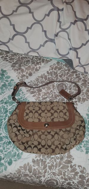 Brown Coach purse for Sale in Alexandria, VA