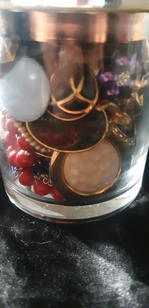 Jar of Vintage Jewelry for Sale in Riverside, CA