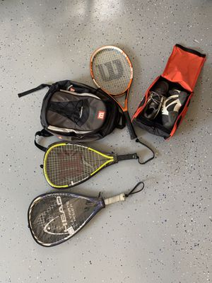 Tennis rackets + shoes for Sale in FL, US
