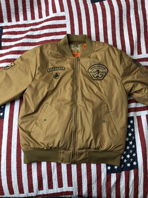 Brooklyn Laundry Bomber Jacket (Size L.) for Sale in Federal Way, WA