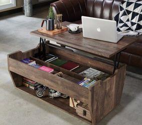 Rustic Lift-top Coffee Table in Reclaimed Oak for Sale in Ontario,  CA