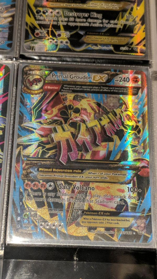 Primal Groudon EX Full Art