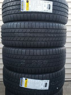Set Of New Tires GOODYEAR 235/65R16 Llantas for Sale in Bellwood, IL