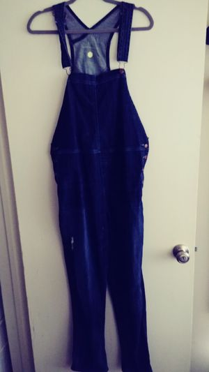 Women's Denim overalls size Large for Sale in Arcadia, CA