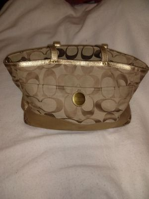 Large Coach baby diaper bag for Sale in Clearfield, UT