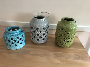 Ceramic candle holders for Sale in Watertown, MA