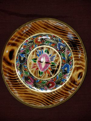 Mexican wooden tray , dish , plate for Sale in Anaheim, CA