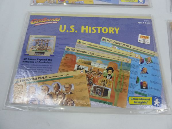 Set of 5 Geosafari Lesson card sets