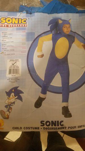 Sonic the hedgehog kids costume for Sale in Salt Lake City, UT