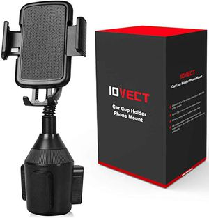 Iovect Car cupholder phone mount new for Sale in Corona, CA