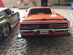 Maisto, RC Dodge Charger and Mustang 1/10 scale for Sale in Manchester, MO