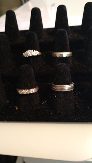 stering silver wedding sets for Sale in Spindale, NC