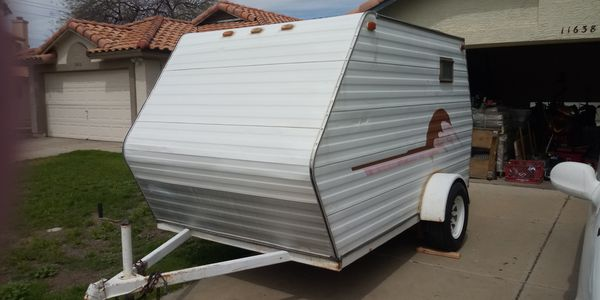 Enclosed trailer with nothing in it