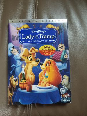 Walt Disney Lady and the Tramp 50th Anniversary Edition for Sale in Bloomfield, NJ