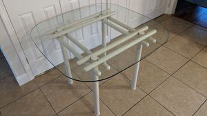 Glass top kitchen or dining table for Sale in Concord, CA