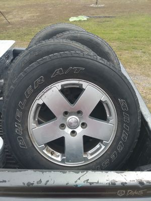 Jeep Rims+Tires for Sale in Austin, TX