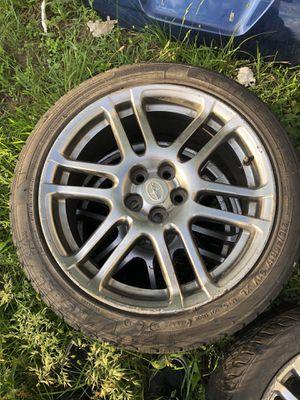 Scion tc stock rims and tires for Sale in Attleboro, MA