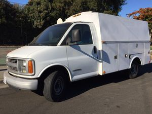 2002 Chevy express 3500 214000 miles runs great,A/C,heater, currently registered $3,900 cash no trades for Sale in Hayward, CA