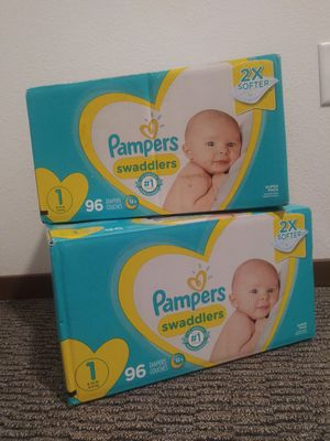 Pampers Diapers size 1 for Sale in Kent, WA