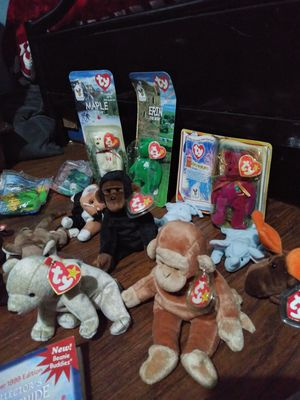 TY beanie babies collectibles for Sale in Los Angeles, CA
