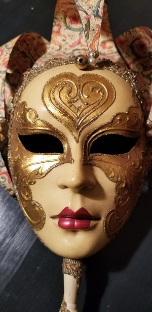 Venetian Mask with Full Face for Sale in Hialeah, FL