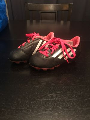 Girls Adidas Soccer shoes 9K for Sale in West Covina, CA