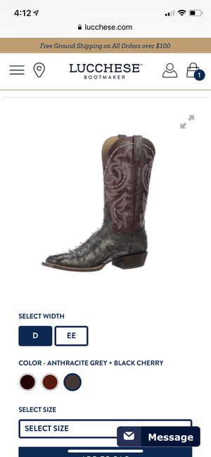 Lucchese men's boot for Sale in Phoenix, AZ
