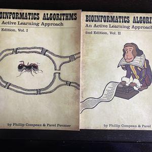 Bioinformatics Algorithm Books (Coursera) for Sale in Mountain View, CA