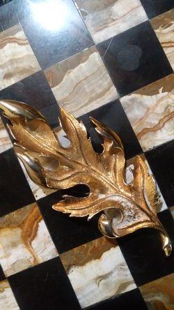 Golden Leaf Brooch for Sale in Aurora,  CO