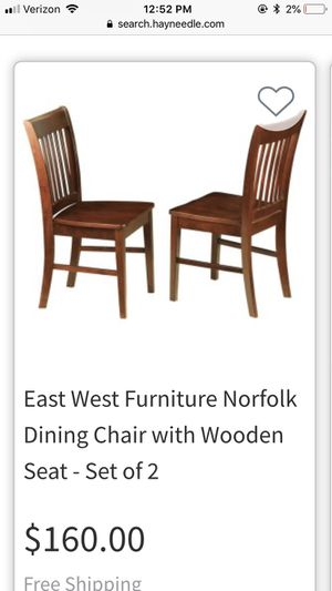 Mahogany set dining chairs for Sale in Scottsdale, AZ