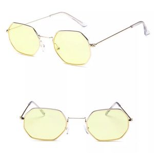 Yellow Lens Gold Frame Hexagon Sunglasses for Sale in Modesto, CA