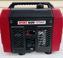 Mint Coleman Powermate Sport 1600 Watt Generator for Sale in Layton,  UT