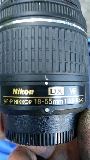 Nikon xit pro series digital cpl 18- 55mm camera lens for Sale in Portland, OR