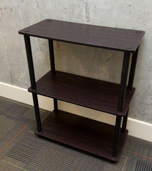 Dark wood 3 tier shelf for Sale in San Francisco, CA