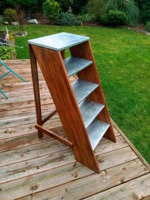 BOOKSHELF • LAMP / PLANT STAND • World Market • EXCELLENT CONDITION for Sale in SeaTac, WA